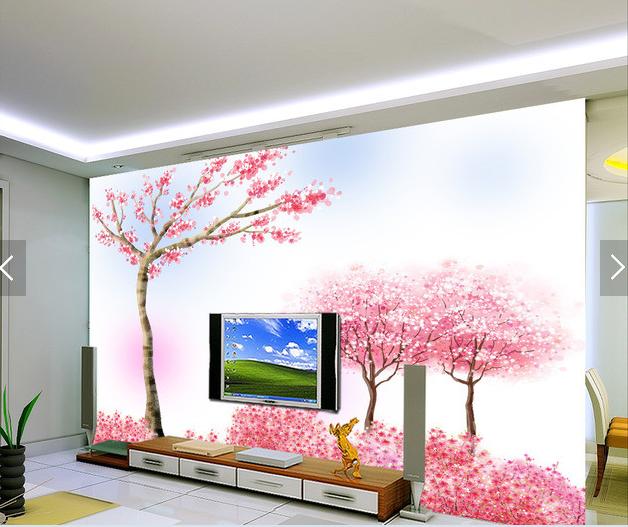 3D Frühling Baum Muster7 Tapete Tapeten Mauer Foto Familie Tapete Wandgemälde DE
