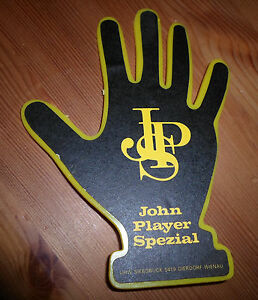 Vintage-John-Player-Special-Formula-One-Racing-dangle-hand-for-car-window-Lotus