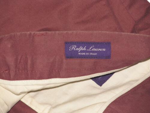 $295 Ralph Lauren Purple Label Mens Italy Casual Chino Khaki Dress Pants Slacks