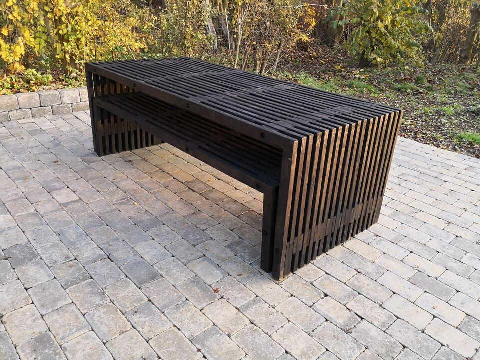 Spisebord m/stole, Fyrretræ, Woodstock