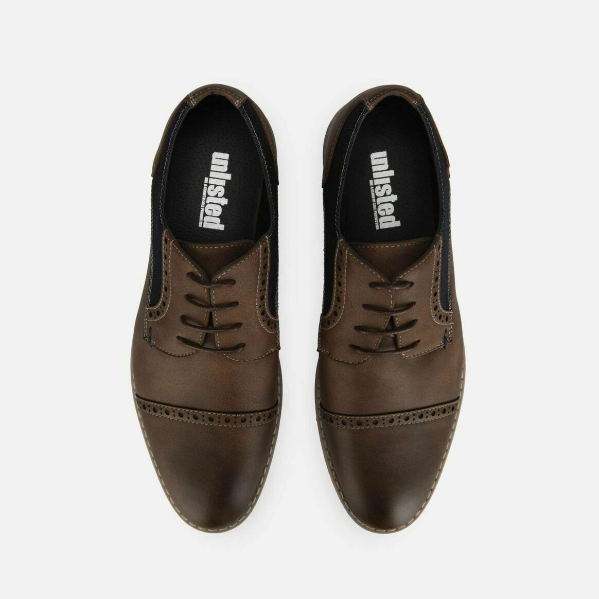 Unlisted by Kenneth Cole Men's Ozzie Lace Up B Oxford - Brown Size 11 M