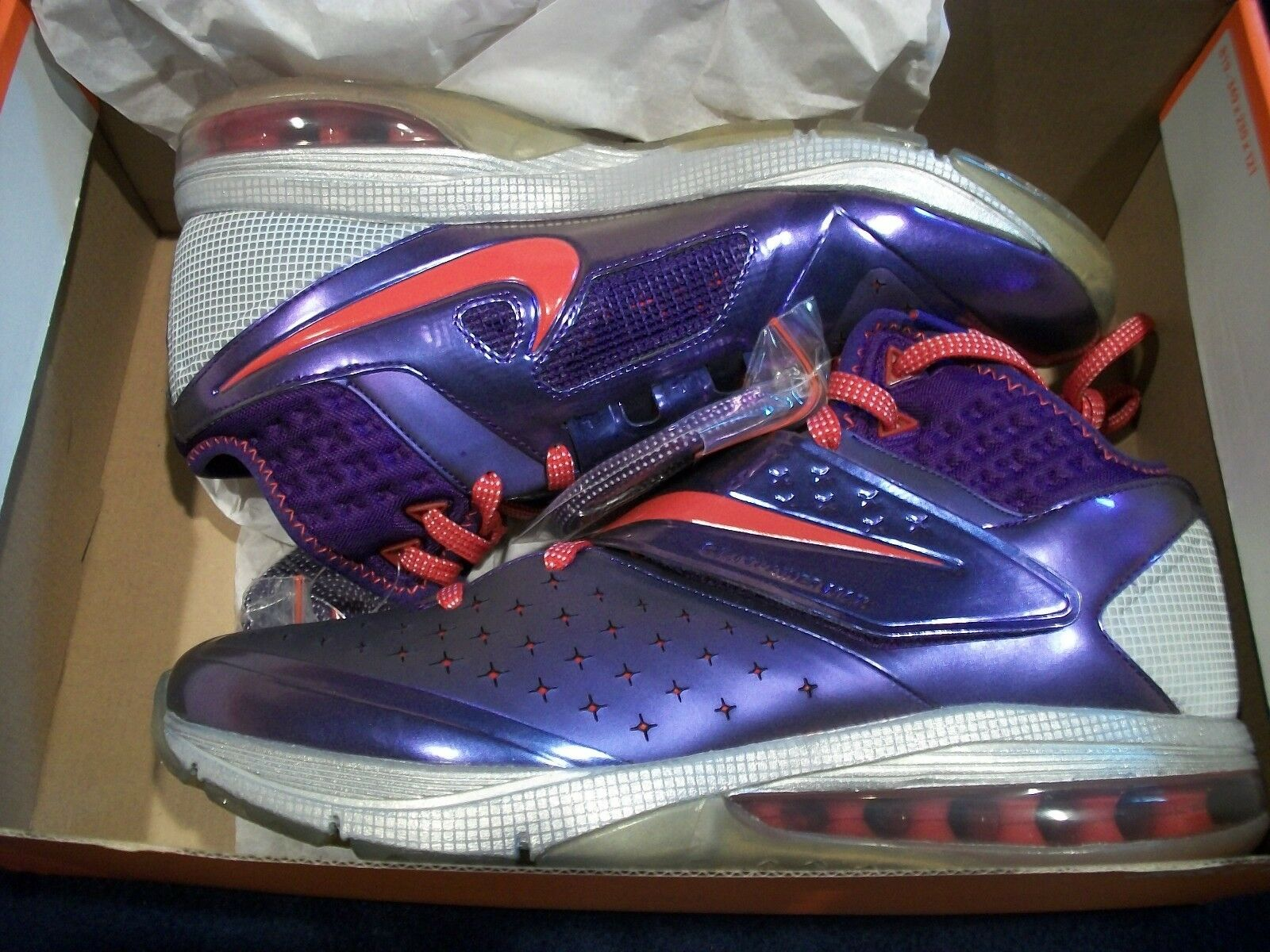 Nike CJ81 Trainer Max Men's Boy's Shoes Purple/ Red - Gray 603711 500 Size 9