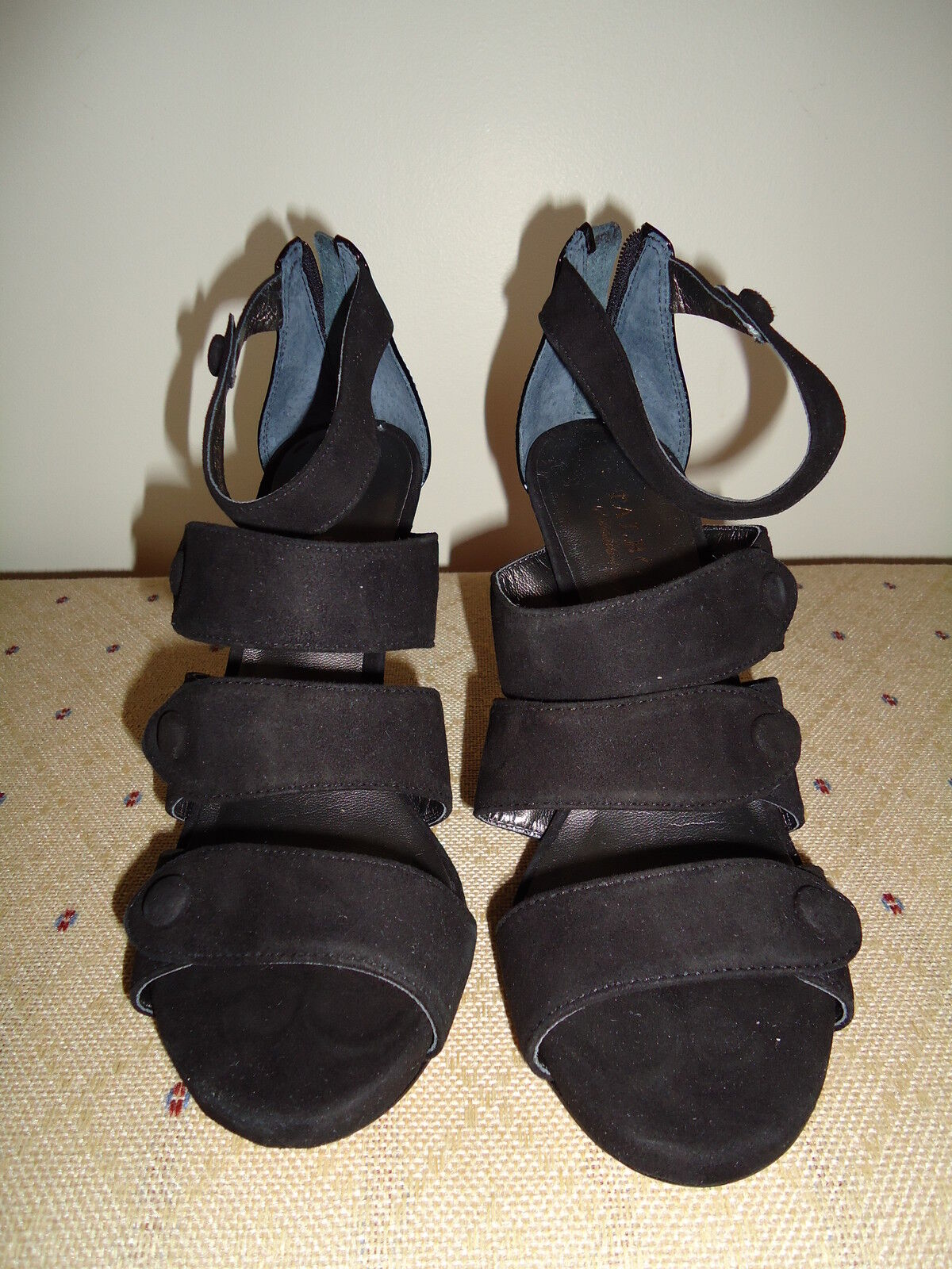 Talbots New Leather high heels shoes sandals Size 7.5