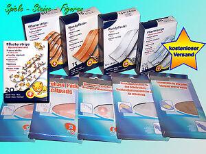 Wundpflaster-Pflaster-Hornhaut-Huehneraugen-Druckschutz-Pflaster-Stripes