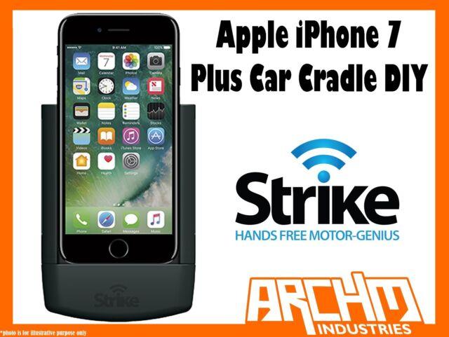 STRIKE ALPHA APPLE IPHONE 7 PLUS CAR CRADLE DIY - BUILT-IN FAST CHARGER MOUNT