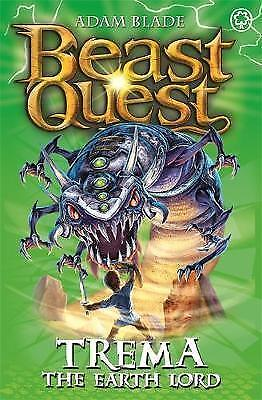 "1 of 1 - ""VERY GOOD"" Trema the Earth Lord: Series 5 Book 5 (Beast Quest), Blade, Adam, Bo"