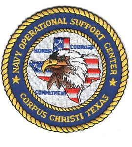USN Patch Patch:  Navy Operational Support Center Corpus Christi, Texas