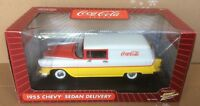 Coca Cola 1955 Chevy Sedan Delivery - Johnny Lightning - Coke - 1:18 Scale