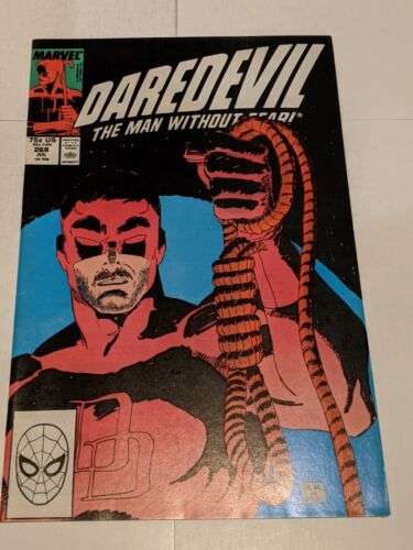 Daredevil #267 June 1989 Marvel Comics