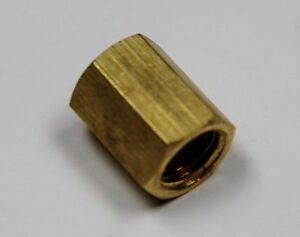 """Brass Fittings: Inverted Union, Tube OD 3/16"""", QTY. 25"""