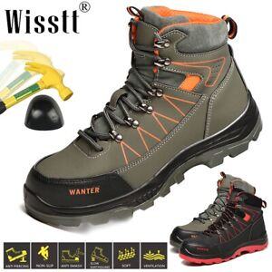 Men/'s Camouflage Light Work Boot Safety Shoes Steel Toe Sports Trainers Sneaker