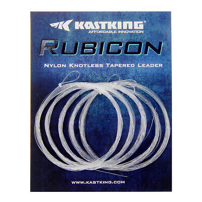 5 Pack 6 Pack KastKing Rubicon Tapered Leaders Fly Fishing Line