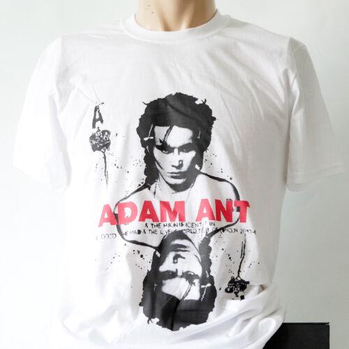 ADAM ANT NEW WAVE PUNK ROCK T-SHIRT duran duran soft cell human league S-3XL