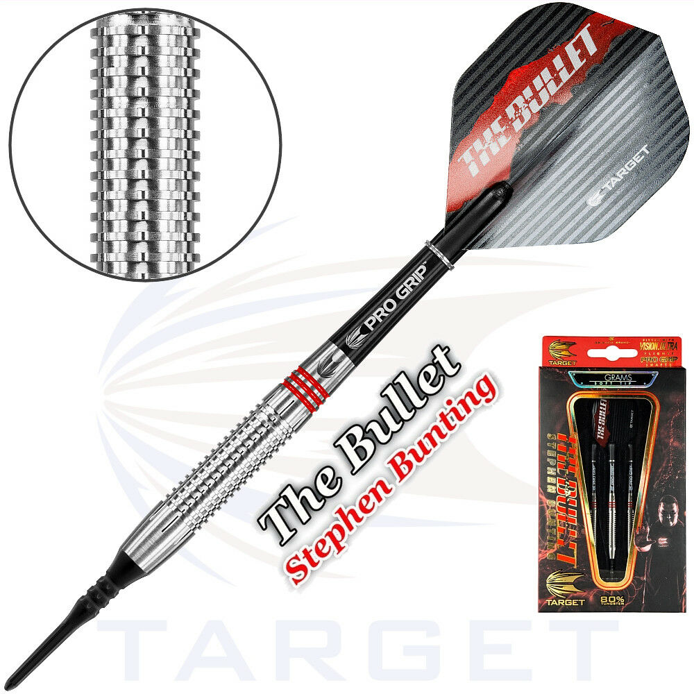 TARGET Soft Dart Pfeile Softdarts Darts Stephen Bunting The Bullet 16 gr 101352