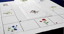 Tischdecken Handarbeiten Flores 90x90cm