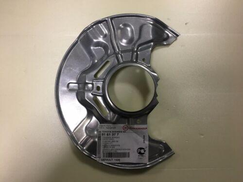 Disco de freno Delantero Placa De Protección Trasera Izquierda Toyota Avensis 2003-2008