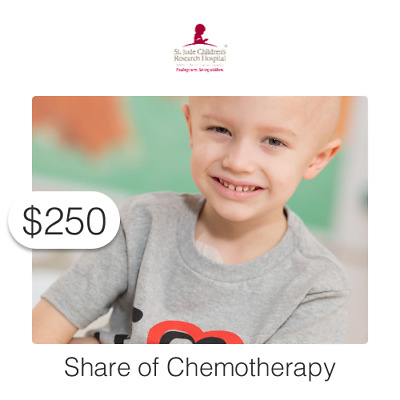 $250 Charitable Donation For: Share of Chemotherapy