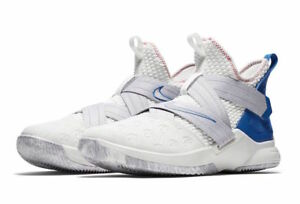 best service d4434 365a3 Details about Men's Nike Lebron Soldier XII Basketball Summit White Sizes  8-12 NIB AO2609-101