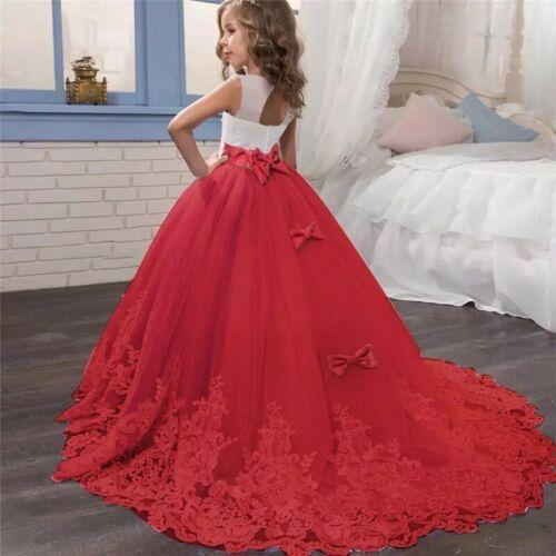 Vestidos De Fiesta de Niña Para Bodas Bautizos Prom Quinces Elegantes Formales