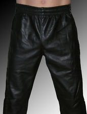 Leder Jogginghose Leder Trainingshose Sporthose LEDERFUTTER - LEATHER LINING