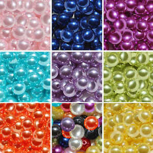 Acrylic-Round-Faux-Pearl-Spacer-Loose-Beads-Imitation-Pearls-Craft-4mm-6mm-8mm