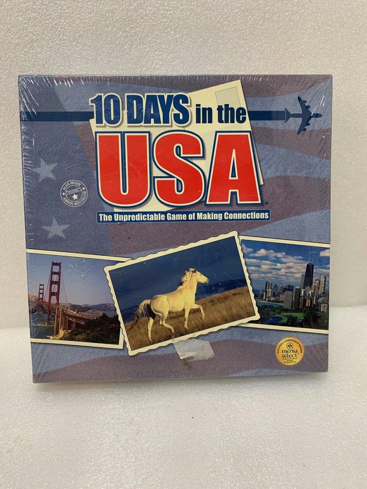 10 Days In USA gioco  (Out of the scatola Publishing) GEOGRAPHY  consegna gratuita e veloce disponibile
