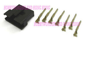 JST-2-5-SM-7-Pin-Male-Connector-Housing-Plug-with-male-crimp-terminal-x-30-SETS