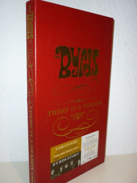 THE BYRDS: There Is A Season (Box-Set mit 4 CD's + 1 DVD-Video von 2006) Longbox