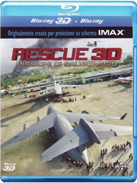 RESCUE - MISSIONI DI SALVATAGGIO - BLU-RAY 3D + 2D nuovo sigillato [dv37]