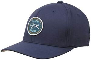 pretty nice 4840a 40c14 Image is loading Salty-Crew-Dorado-Stamped-Hat-Navy-New
