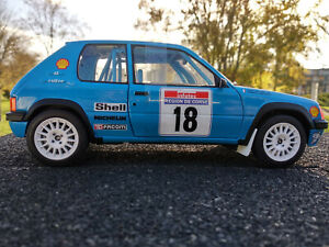 205-Rallye-Tour-de-Corse-1990-Solido-echelle-1-18eme-neuve-longueur-19cm-metal