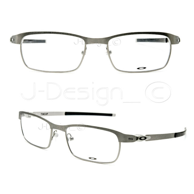 8bd7a87fe8 Authentic Oakley 0ox3184 Tincup 318404 Powder Steel Eyeglasses for ...