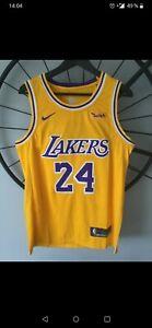 Détails sur Maillot Los Angeles Lakers Nike 24 Kobe Bryant