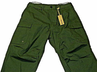Diesel Paynal Man Pant Green NWT Authentic Retail 228 USD