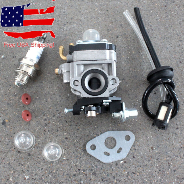 Carburetor For 22.5cc 23cc ZENOAH G23LH /& G2D Goped Engine Fuel Line Carb Kits S