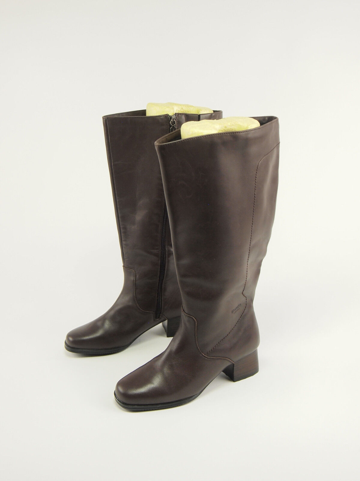 BLONDO Brown Leather AquaProtect Winter Wide-calf Tall Boots 6 WIDE
