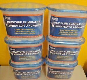 Details About 6 Moisture Eliminator Absorber Home Gun Safe Closet Garage Car Dehumidfier Mold