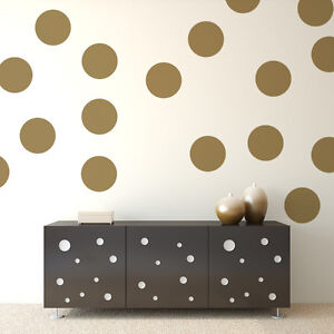 Image is loading Polka-Dot-Decals-Polka-Dot-Wall-Decal-Party- & Polka Dot Decals Polka Dot Wall Decal Party Decorations Vinyl ...