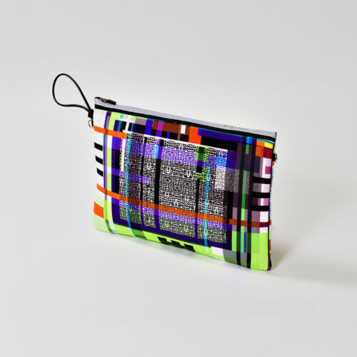 Made Marisa fantaisie embrayage Le4uadre 24 Neoprene It Sac In H Maxi qwn0XdISS