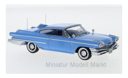#44099 1960-1:43 Neo Dodge Polara Coupe-azul