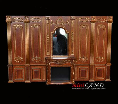 Corner conector column 1pc Royal Paneling WN Dollhouse miniature 1:12 DIY part