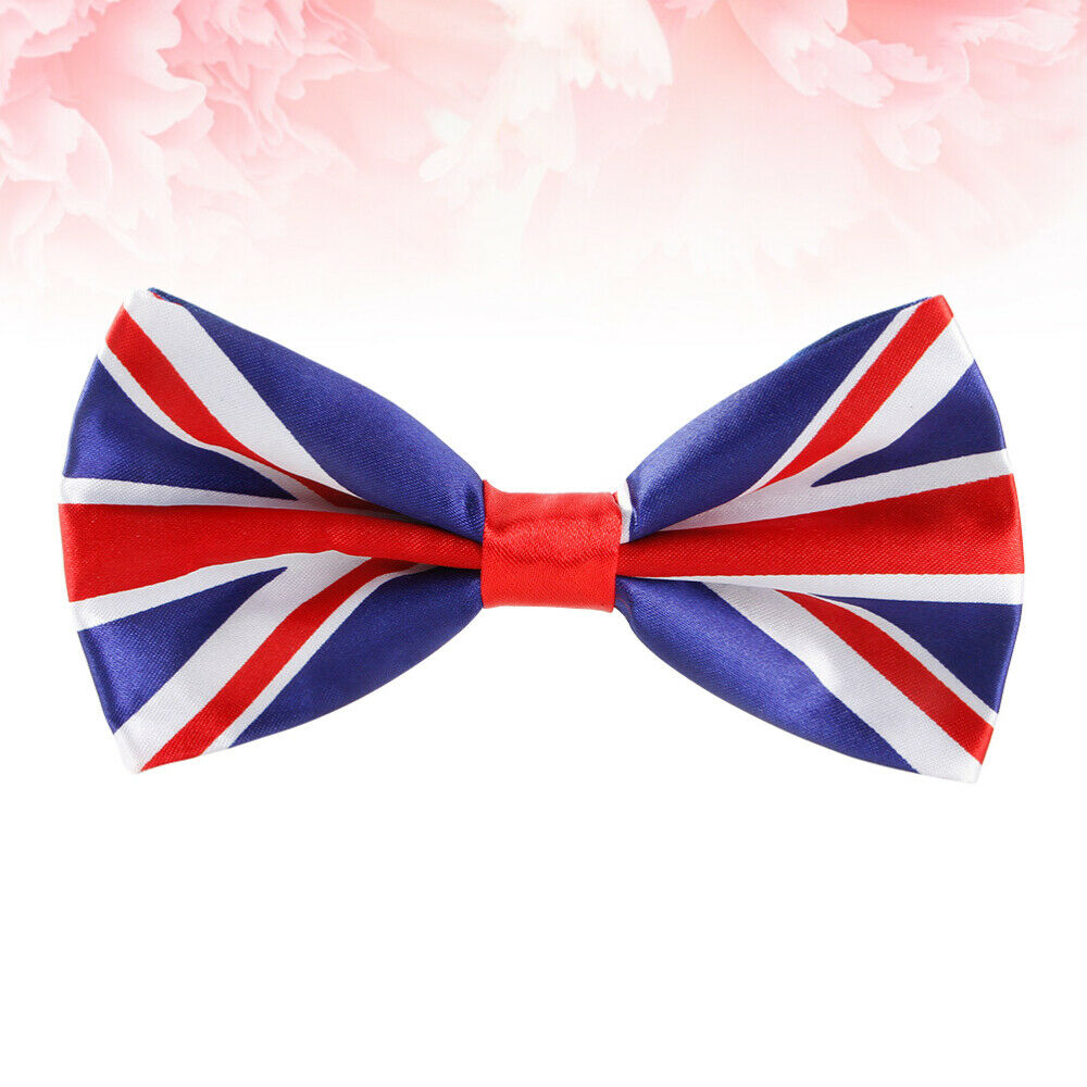 1 Pc Männer Bowtie UK Flagge gedruckt Mode Neuheit Frauen Krawatten für Party