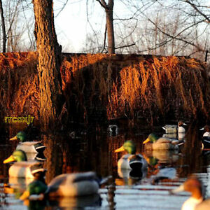 Avery Greenhead Gear Killerweed Duck Boat Blind Kit Willow