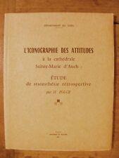 H. Polge Iconographie des Attitudes Statues Cathédrale d'Auch Gers 1971