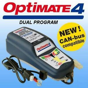 Optimate 4 Dual Programme Battery Charger New Improved Connection System Kart