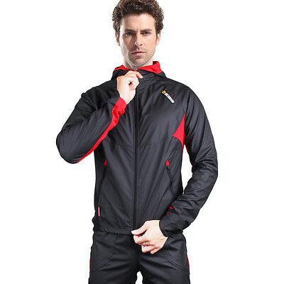 SOBIKE Cycling Winter Thermal Jacket Hood Bike Windproof Water Resistant Coat