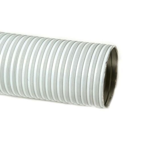 Tubo flessibile in alluminio bianco estensibile da 0,85 a 3 ml da 90