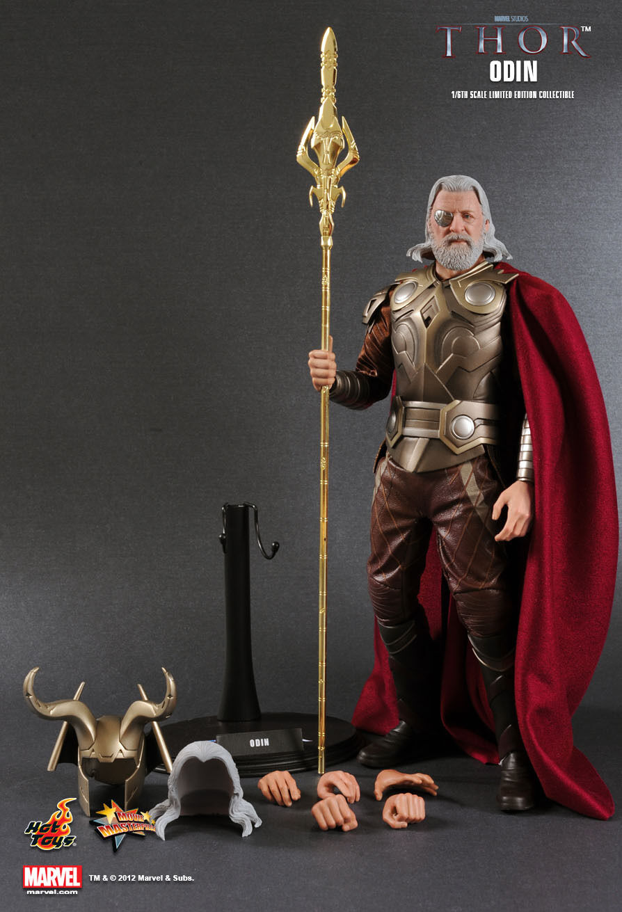 Entrega directa y rápida de fábrica HOT TOYS MMS148 16 MARVEL MARVEL MARVEL Thor Odin Borson Anthony Hopkins obra maestra figura  Venta barata