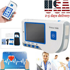 Handheld Ecg Ekg Portable Monitor Electrocardiogram Lcd Display Software Cd Us