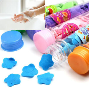 Useful-Portable-Flower-Soap-Petal-Bath-Shower-Skin-Care-Confetti-Foaming-Paper